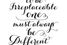 Be irreplaceable / by Couture Events