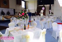 Table Centres / Looking for some great #WeddingIdeas? We supply a very wide range of different centre pieces!