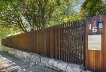 Fence Details / A variety of fence details by Formed Gardens