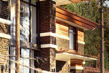 Дом в стиле Райта в Репино (Курортный район)