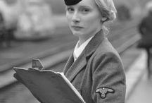 woman in uniform