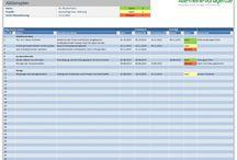 Organisation, Terminplaner, ToDo-Listen / Hier findest du Vorlagen für die Optimierung deiner Arbeit. Organisiere deine Aufgaben mit Hilfe von Terminplanern, ToDo-Listen und Tools zur Organisation.