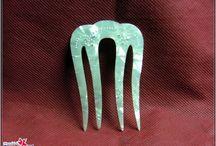 Acetatos -Carey -Concha -Nacar.... / peinetas y otros trabajos en acetatos  imitacion carey, concha, malaquita,asta, marfil. www.manualidadespinacam.com