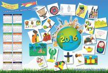 """Ημερολόγιο """"Ταξιδεύοντας στους πολιτισμούς"""""""