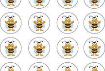 výzdoba - včelky