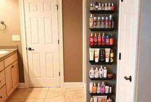 Small House Storage / Guardar cosas en espacios pequeños