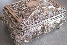 Treasure Boxes / Treasure boxes, jewellery boxes for precious little things, special items, trinkets