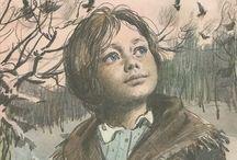 okładki radzieckich książek dla dzieci