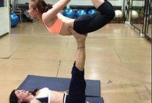Yoga / Yoga og smidige folk.