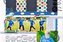 Digital Scrapbooking: Sports