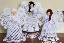 angyalkák készitése / horgolási minták leirása