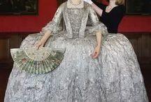 Rococo fashion, 1750-1775 (Marie Antoinette)