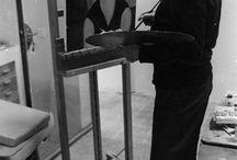 Artist photos / Fascinating photos of famous artists