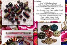 Paper beads-5 stappe