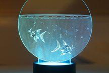 vidrios grabados y demás