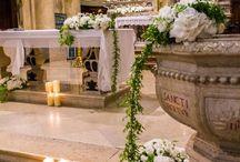 Decorazioni di chiesa per matrimoni