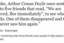 Sir ARTHUR CONAN DOYLE and OTHER WRITERS I LOVE