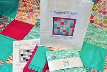 Quilt Kits & Pre-cuts / I love helping and encouraging people to learn to quilt, these kits and fabric pre-cuts are an excellent introduction to this wonderful craft.