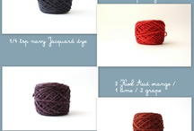 Dyeing Yarn / by Margaret Arisco Williams