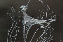 гвоздики и нитки