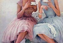 Dresses, Hair and Make ups