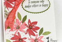 Thinking of You & Friendship / Friendship and Thinking of You cards made by Stampin' With Pixie using Stampin' Up! products.