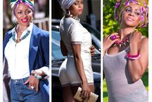 Headwrap on point
