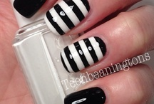 Nails - Lines&Stripes! / by Erin DeCuir