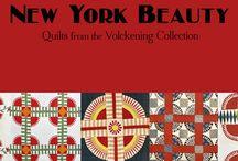 New York Beauty, Quilts from the Volckening Collection / Il est tombé amoureux de son premier New-York Beauty à deux pas de la statue de la Liberté et depuis plus de 20 ans il les recherche à travers tous les Etats Unis. http://www.quiltmania.com/produits/L/FR/1630/new-york-beauty,-quilts-from-the-volckening-collection.html