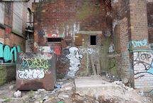 Exploration / Abandoned buildings and graffiti from my explorations
