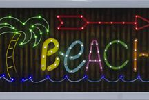 beach pool signs ,tablets