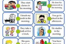 english worksheets 4-5