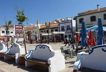 Ferragudo. Algarve, Portugal / Ferragudo is a small Portuguese town situated in the central Algarve near Portimaõ. It is the perfect holiday destination of families with young children and those looking to sample Portugal away from the high rise hotels and appartments of Portumaõ