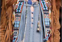 hippie moda.