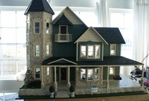 Dollhouses I made! / My Dollhouses and the miniatures I make to go in them.