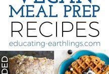 Recetas veganas: preparación semanal