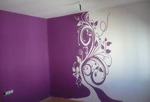 Lila szoba ötletek