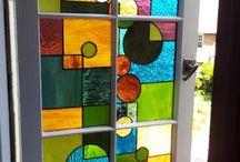 pinturas en vidrio falso vi