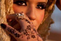 Arabian and Hindi Beauty / Beautiful Women