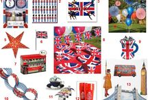 Sweet 16 Britain Theme Party