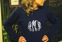 Monogram everything!  / by Brittany Michael