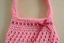 Crochet sac et pochette