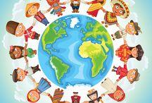 People around the world Theme