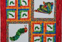 Quilts from Fabric Panels and Novelty Prints / There are some beautiful, fun, and nostalgic fabric panels on the market. It is inspiring to see how quilters cut and combine the fabrics into new creations.