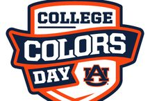 #wareagle #collgecolors / Orange & Blue through and through