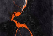 Lava Hot Abstract Art / by John Michael < Abstract Artist >