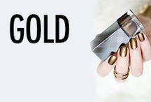 Gold Nail Art & Nail Designs