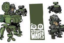 Stupid Wars sketches