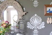 Pleasant WALLPAPER & DESIGN / Decorative wall treatment