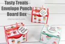 Punch Boards / Stampin' Up! Gift Bag Punch Board, Envelope Punch Board